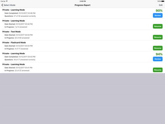 Study Buddy Test Prep (FAA Private Pilot) iPad Screenshot 5