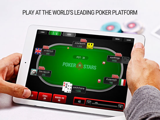 PokerStars Poker: Free Online Poker Games - NET on the App Store