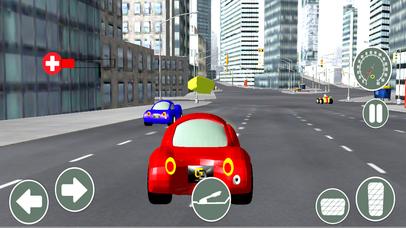 Turbo Car Racing Pro screenshot 2