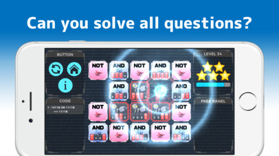 TRYBIT LOGIC - Brain training Apps free for iPhone/iPad screenshot