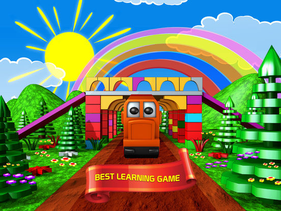 Happy Train Puzzle на iPad