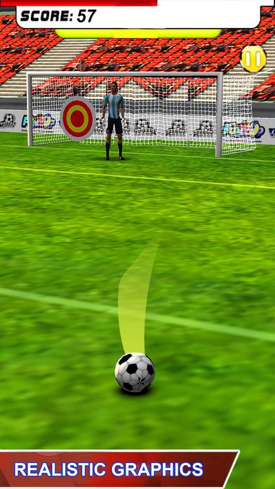 Football Penalty Shot screenshot 1