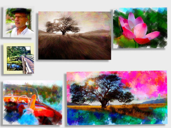 PhotoViva - Paintings from your photos! 앱스토어 스크린샷