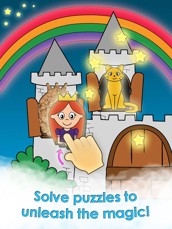 Princess Games for Girls Games Free Kids Puzzlesscreeshot 1