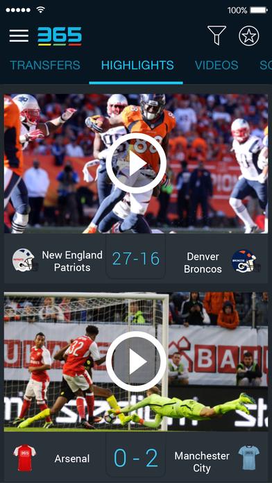 365Scores Screenshots