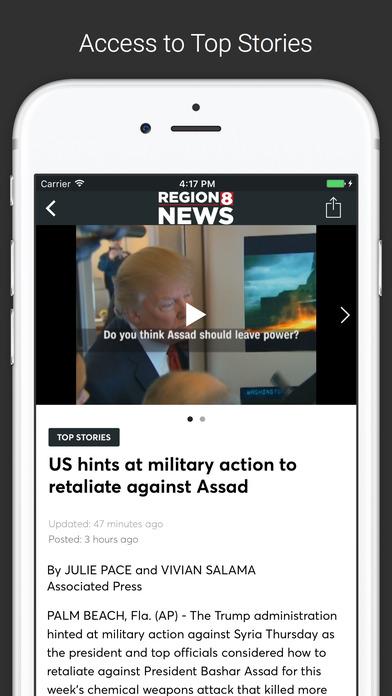 KAIT Region 8 News screenshot 2