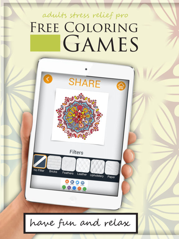 App Shopper Free Coloring Games For Adults Stress Relief