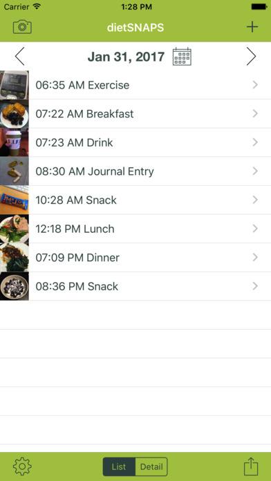 dietSNAPS iPhone Screenshot 2