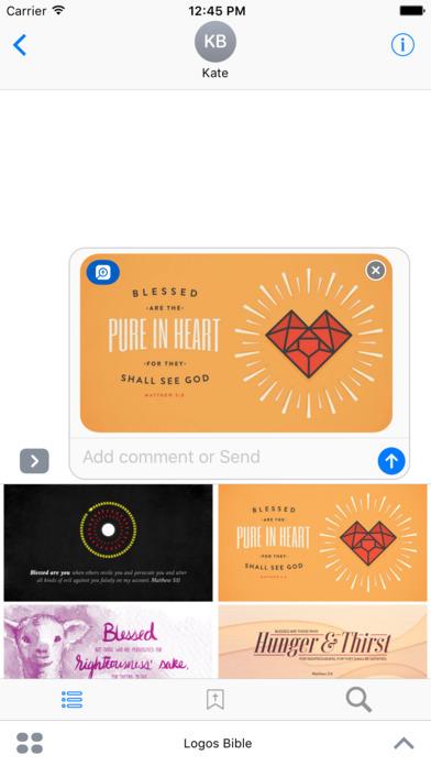Logos Bible Software iPhone Screenshot 7