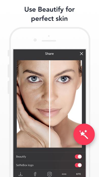 Selfie Box: Photo, Video Maker For Flawless Selfie Screenshots