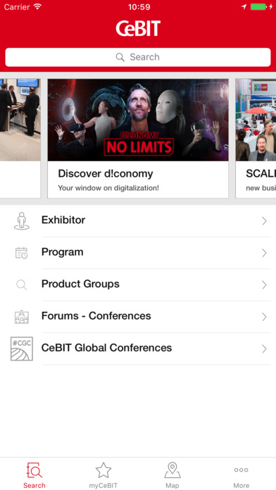 CeBIT 17 Apps free for iPhone/iPad screenshot