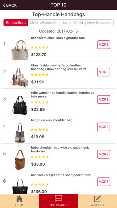 Screenshot for Handbags: Designer Clutches & Purses in United States App Store