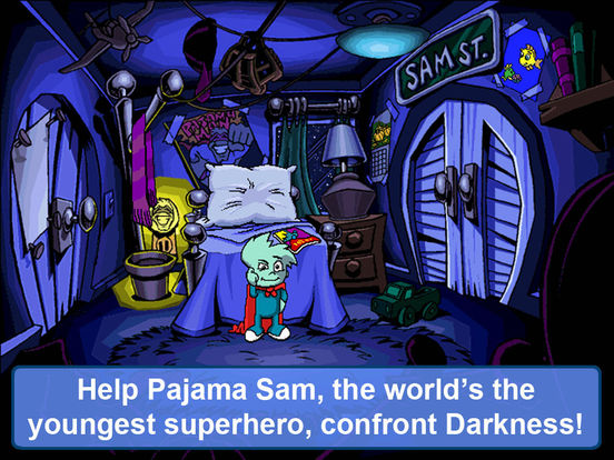 Pajama Sam: No Need To Hide When It's Dark Outside на iPad