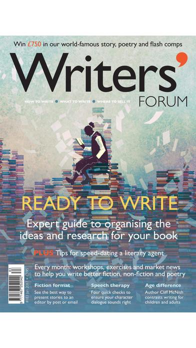Writers' Forum Magazine iPhone Screenshot 1