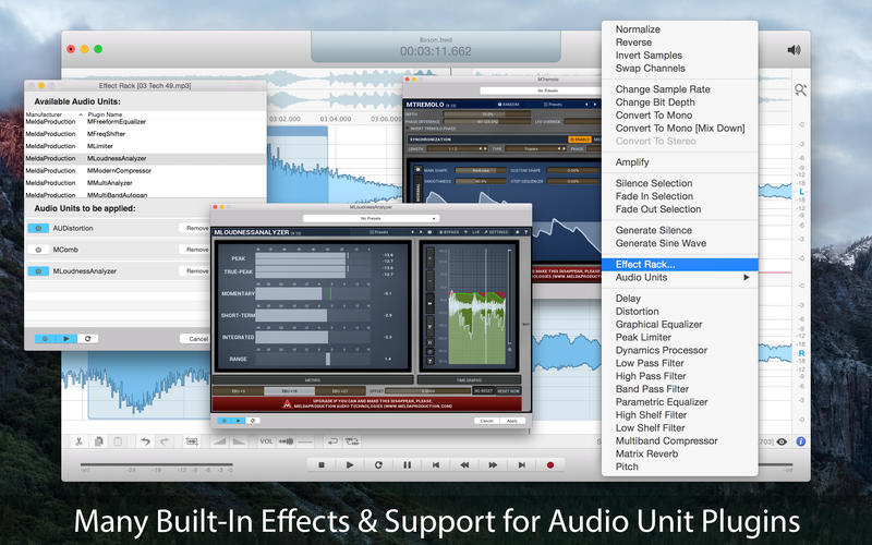 Boson - Audio Recorder and Editor Screenshots