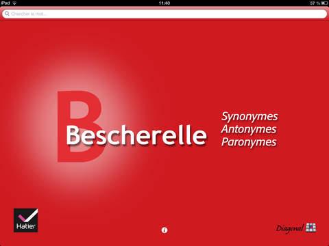 Bescherelle, Le dictionnaire des synonymes iPad Screenshot 1