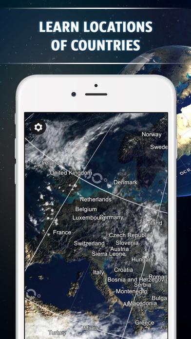 Screenshot #5 for Globe 3D - Planet Earth