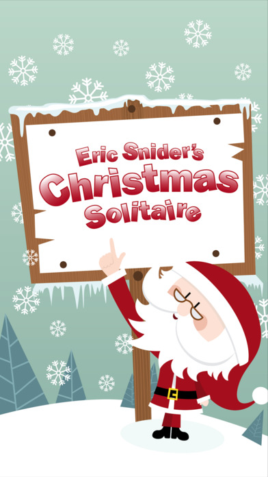 Christmas Solitaire iPhone Screenshot 2