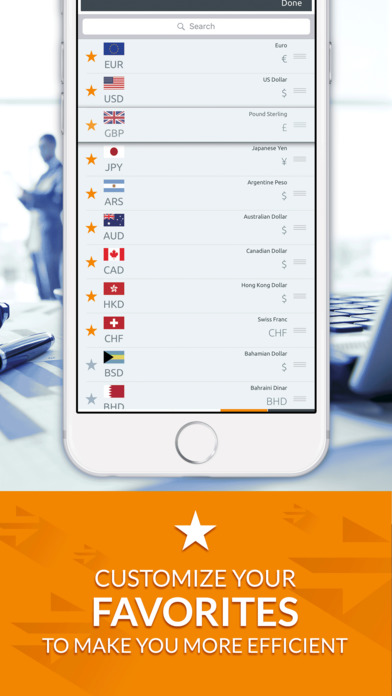 Currency Converter (Free) iPhone Screenshot 3
