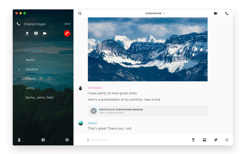 Wire — Private Messenger for Mac