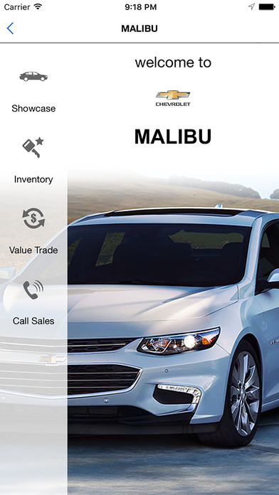 Weber Chevrolet iPhone Screenshot 2