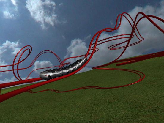 Coaster! 3D Stereograph iPad Screenshot 3