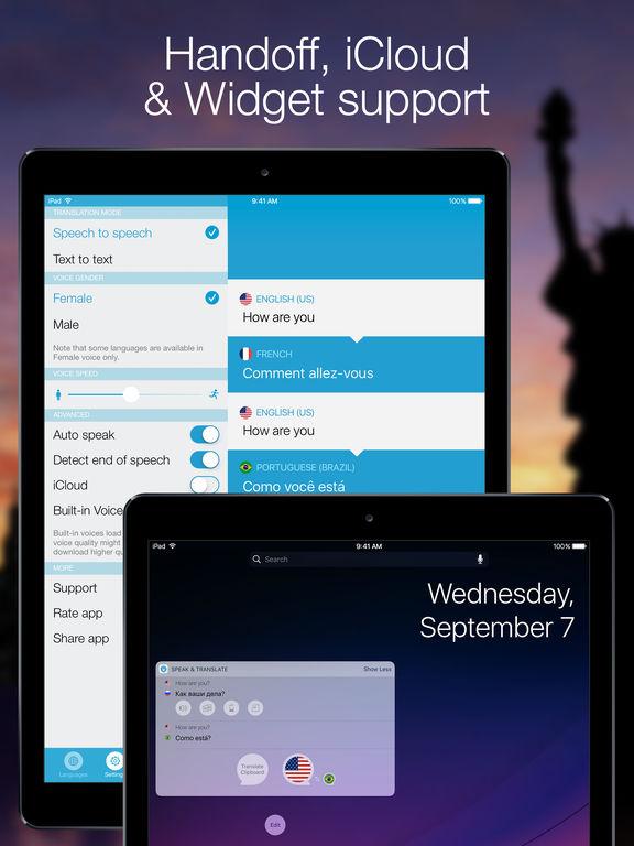 Speak & Translate - Live Voice and Text Translator Screenshots