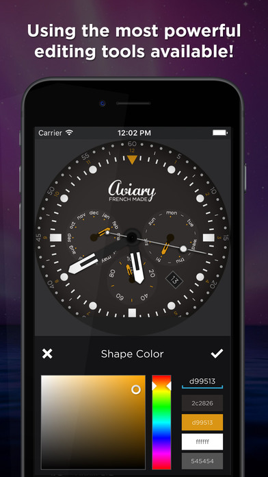 how to design apple watch face