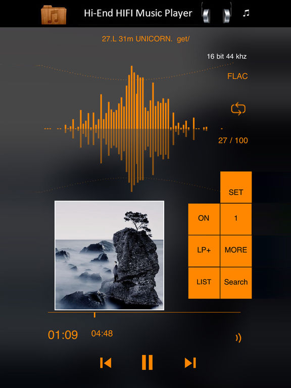 K Music Player-HIFI Hi-End FLAC Player Super Bass Screenshots