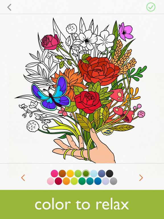 Ipad Coloring Book Le Pencil : Coloring book colorfy: games for adults on the app store