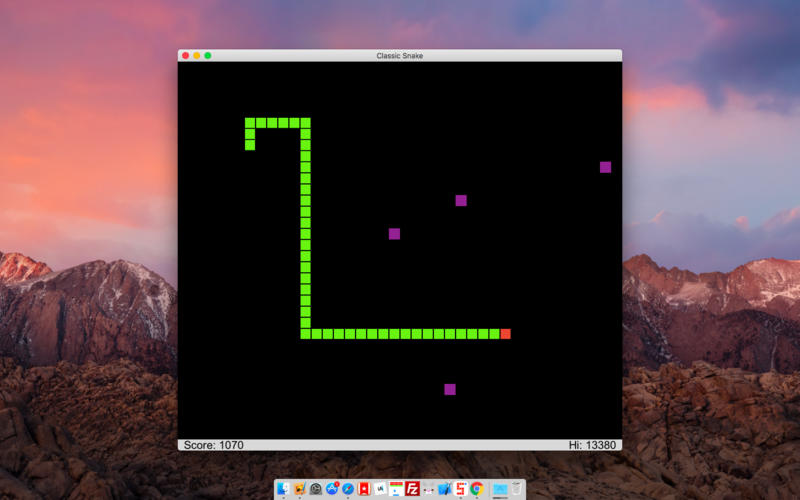 经典贪吃蛇 Classic Snake for Mac