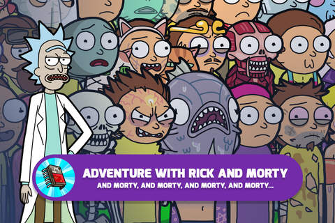 Rick and Morty: Pocket Mortys screenshot 2