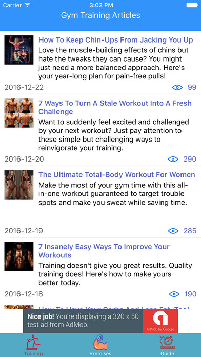 Abs workout by Caynax screenshot 1