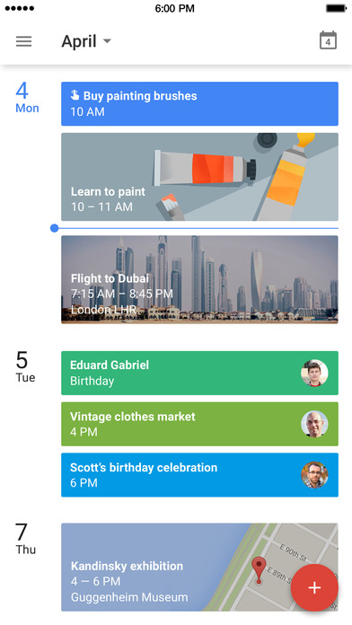 Google Calendar – Make the most of every day on the App Store