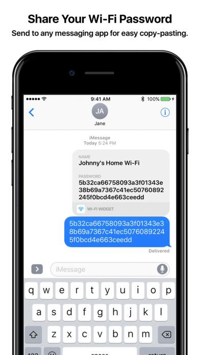 Wi-Fi Widget Apps free for iPhone/iPad screenshot