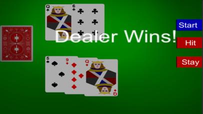 Screenshot 2 Play BlackJack 21 Tournament