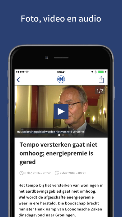 RTV Noord iPhone Screenshot 3