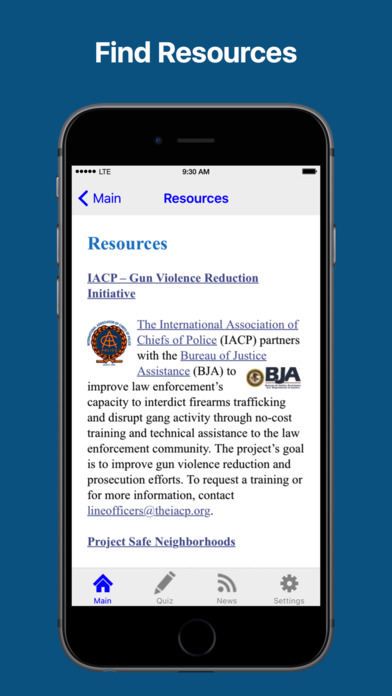 Officer's Guide to Recovered Firearms iPhone Screenshot 3