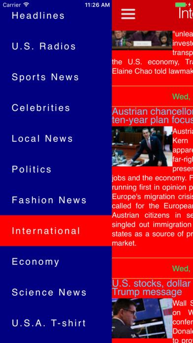 * US News & Radios * Screenshots