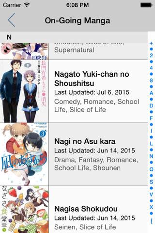 iManga Reader Lite screenshot 4