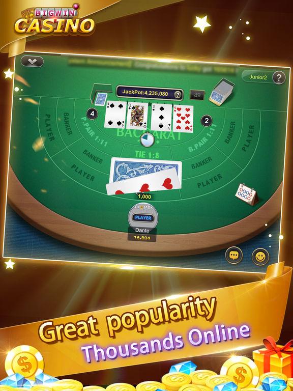 Blackjack Casino-Free card poker gamesscreeshot 4