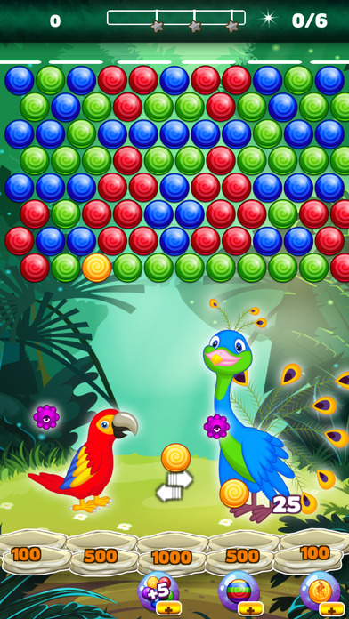 Screenshot for Birds POP Wrap Bubble Shooter -Popping Bubbles HD in United States App Store