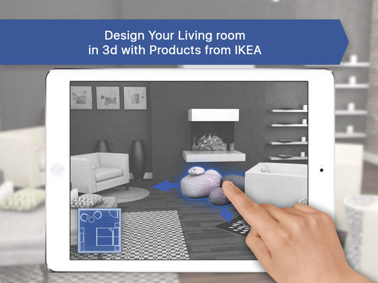 3d living room for ikea: icandesign room planner on the app store