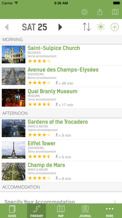 Paris Travel Guide (with Offline Maps) - mTrip Screenshots