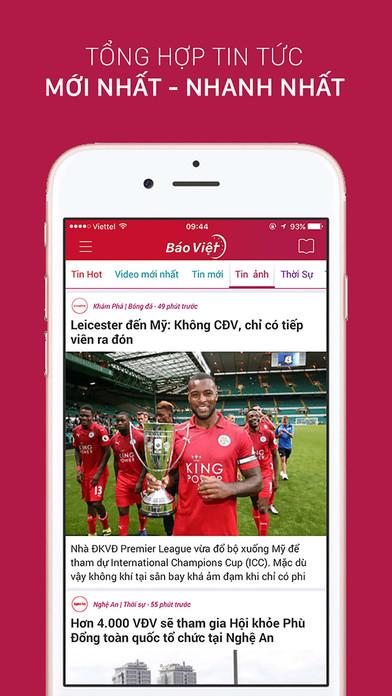 Tin Nhanh - Đọc báo, tin túc 24h Apps free for iPhone/iPad screenshot