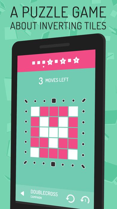 Invert - Tile Flipping Puzzles Screenshot