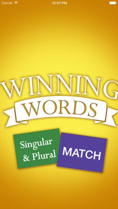 Singular and Plural Match Screenshots