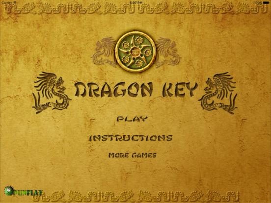 Dragon Key iPad Screenshot 1