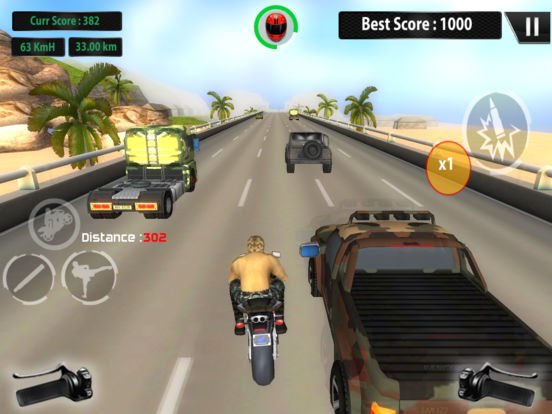 US ARMY MOTO RACER PRO screenshot 8