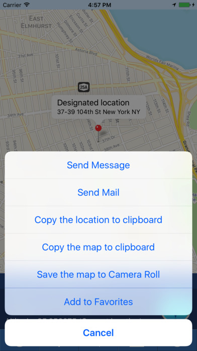 myLoc Pro: Search and share location Screenshots